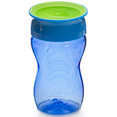 Juicy Wow Spill Free Cup Blue