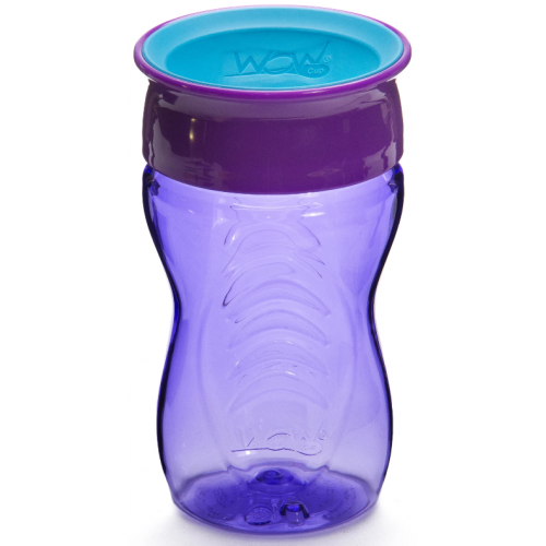 Juicy Wow Spill Free Cup Purple