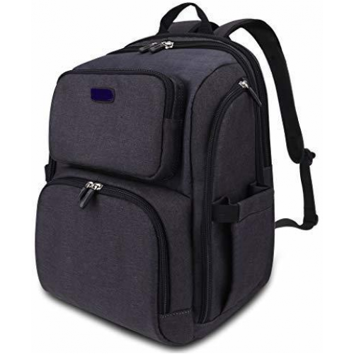 La Tasche Iconic Backpack Charcoal
