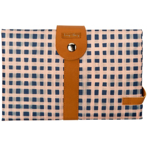 Livvy and Harry Luxe Travel Change Mat Gingham