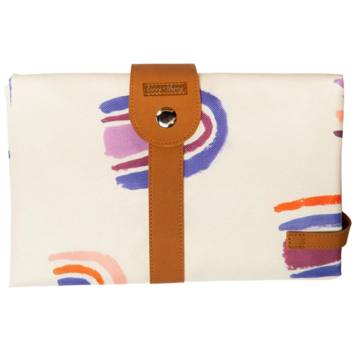 Livvy and Harry Luxe Travel Change Mat Rainbow