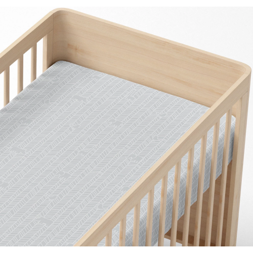 Lolli Living Cot Fitted Sheet Animal Crackers