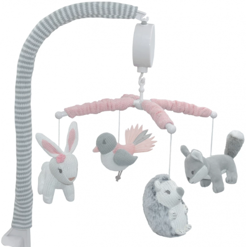 Lolli Living Musical Cot Mobile Forest Friends
