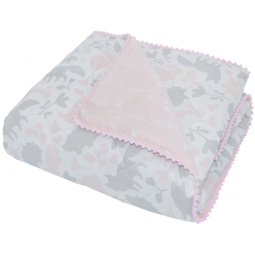 Lolli Living Quilted Cot Comforter Forest Friends
