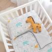 Lolli Living Quilted Cot Comforter Urban Safari