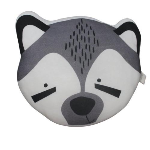 Mister Fly Raccoon Cushion