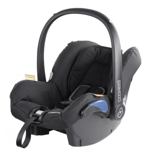 Maxi Cosi Citi Infant Carrier Black Raven + Supermat