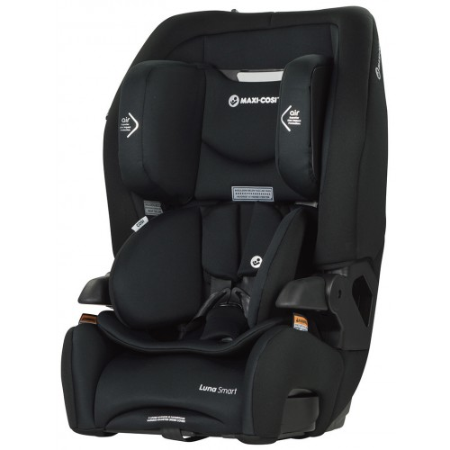 Maxi Cosi Luna Smart Pitch Black + Supermat