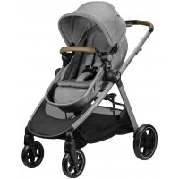 Maxi Cosi Zelia Pram Nomad Grey + Nappy Bag + Supermat + $50 Gift Voucher