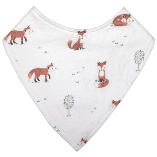 Mister Fly Dribble Bib Fox