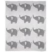 Mister Fly Knitted Blanket Elephant