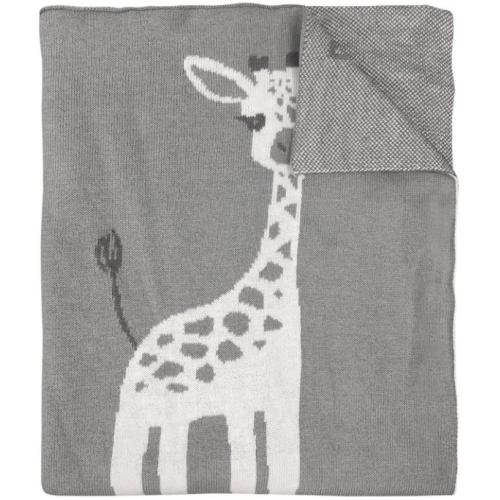 Mister Fly Knitted Blanket Giraffe
