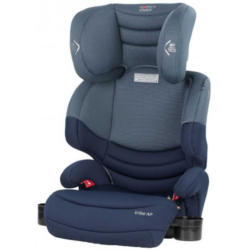 Mothers Choice Tribe Booster Deep Navy + Supermat