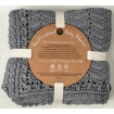OB Design Crochet Baby Blanket Grey