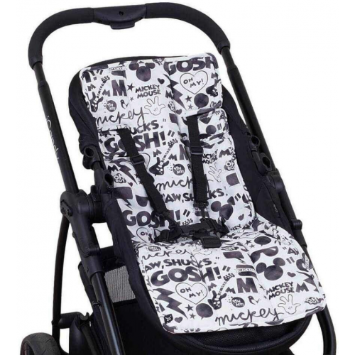 Outlook Cotton Pram Liner Mickey Mouse Comic
