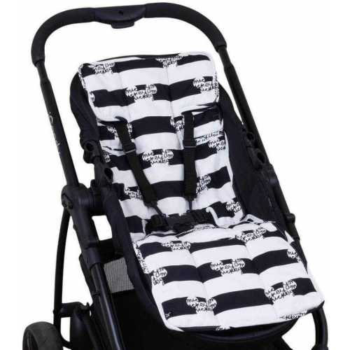 Outlook Cotton Pram Liner Mickey Mouse Stripes