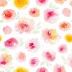 Outlook Cotton Pram Liner Summer Blooms