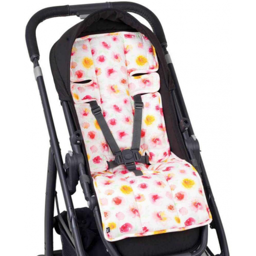 Outlook Cotton Pram Liner Summer Blooms