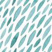 Outlook Cotton Pram Liner Teal Drops