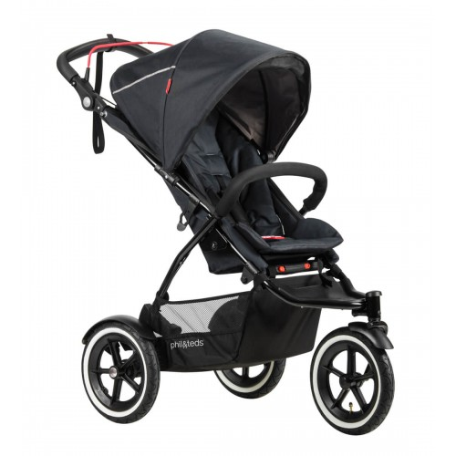 Phil & Teds Sport 3 Wheel Pram Black