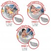 Skip Hop Moby 3 Stage Bath Tub Grey