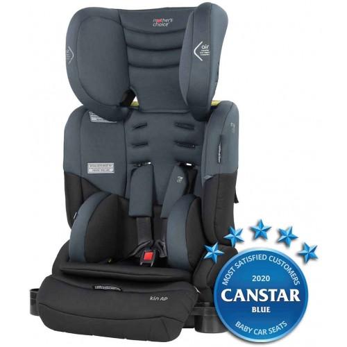 Mothers Choice Kin AP Titanium Grey + Car Seat Fitting Voucher + Supermat