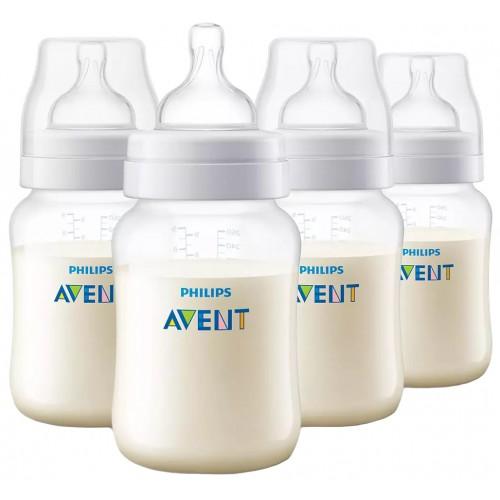 Avent Anti-Colic 260ml Bottle Quad Pack