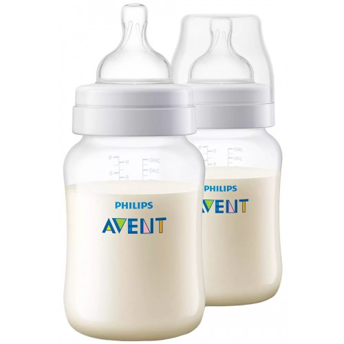 Avent Anti-Colic 260ml Bottle Twin Pack