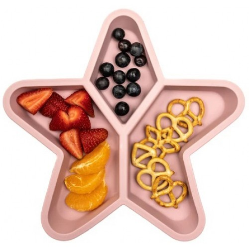 Little Woods Silicone Star Plate