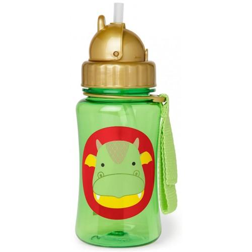 Skip Hop Zoo Straw Bottle Dragon