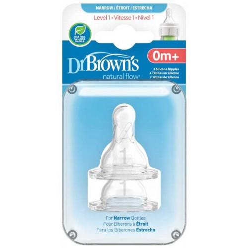 Dr Browns Teats Level 1 Narrow Bottle