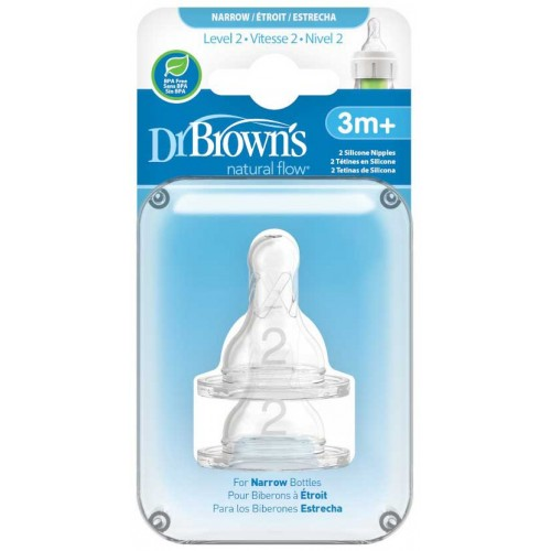 Dr Browns Teats Level 2 Narrow Bottle