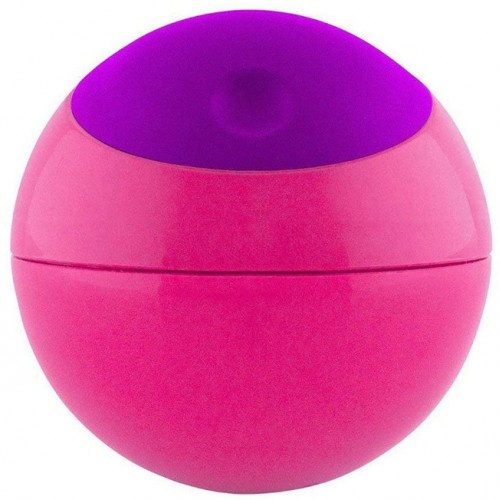Boon Snack Ball Container Pink Purple