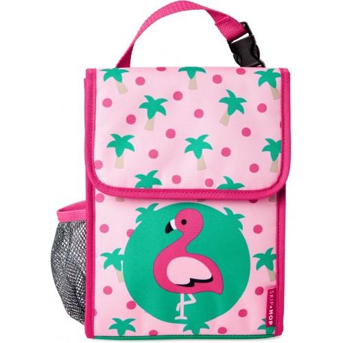 Skip Hop Zoo Lunch Bag Flamingo