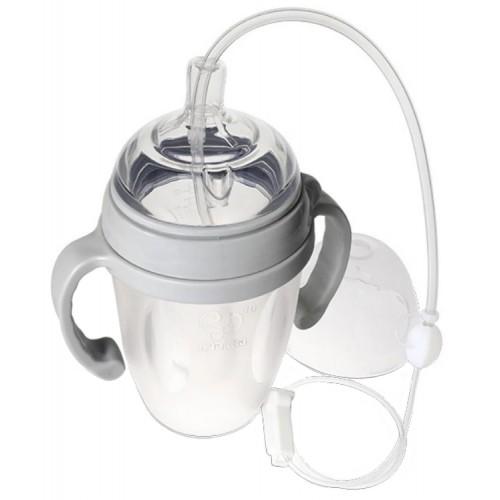 Haakaa Silicone Baby Bottle and Feeding Tube Set