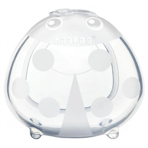 Haakaa 75ml Ladybug Silicone Breast Milk Collector