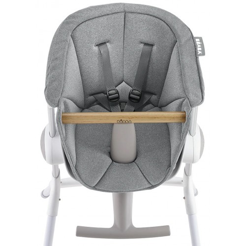 Beaba Up & Down Highchair Seat Cushion Grey