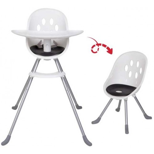 Phil & Teds Poppy Highchair Aluminium