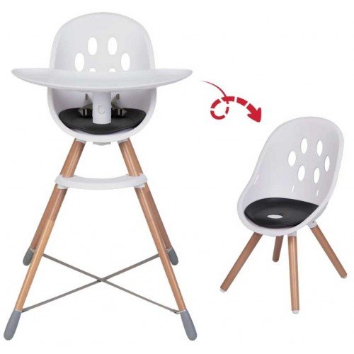 Phil & Teds Poppy Highchair Wood