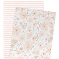 Lolli Living Bassinet Fitted Sheets Meadow