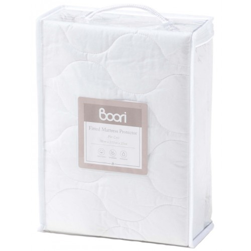 Boori Fitted Mattress Protector 132x70