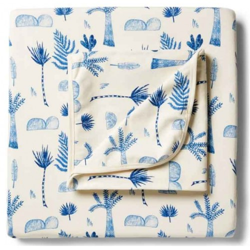 Wilson and Frenchy Cot Sheet Set Jungle