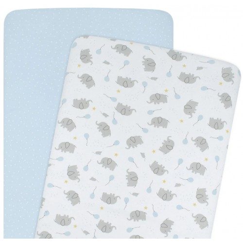 Living Textiles Bassinet Fitted Sheets Mason