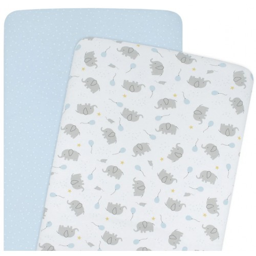 Living Textiles Co-Sleeper Fitted Sheets Mason