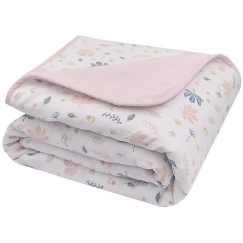 Living Textiles Cot Blanket Botanical