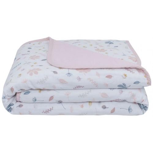 Living Textiles Pram Blanket Botanical