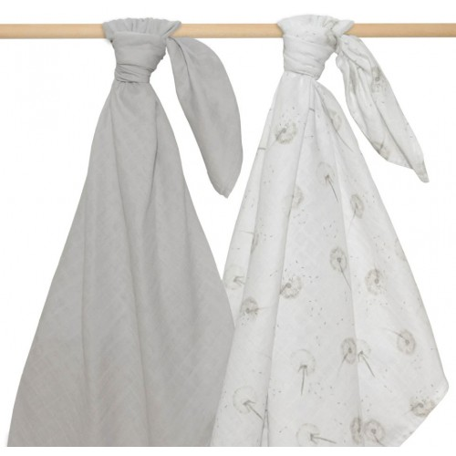 Living Textiles Swaddle Wraps Dandelion