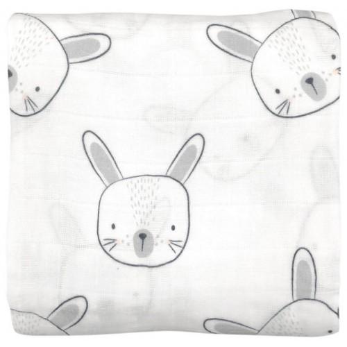Mister Fly Muslin Wrap Bunny