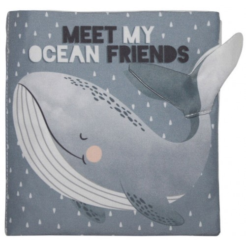 Mister Fly Soft Book Friends In The Ocean