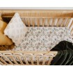 Snuggle Hunny Fitted Cot Sheet Eucalypt